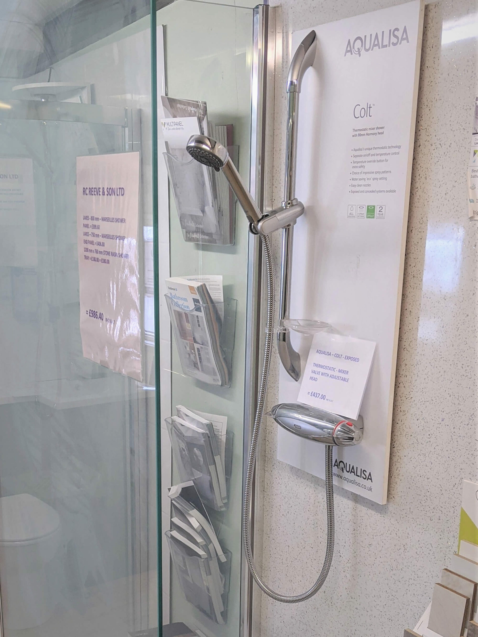 Shower Heads and Fittings